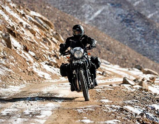 Probando Royal Enfield Himalayan