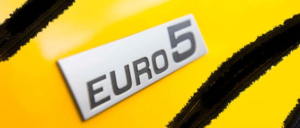Euro 5 motos